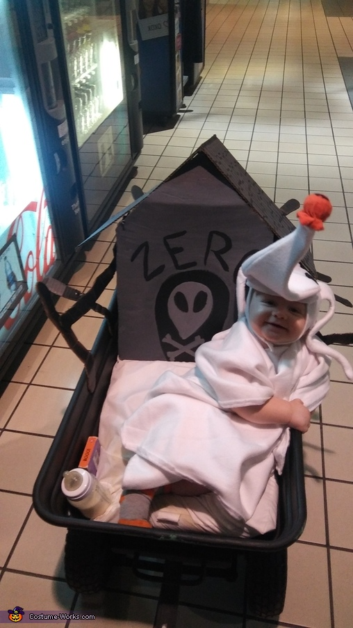 Zero Baby Homemade Costume