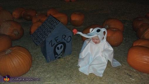 Zero Baby Homemade Costume