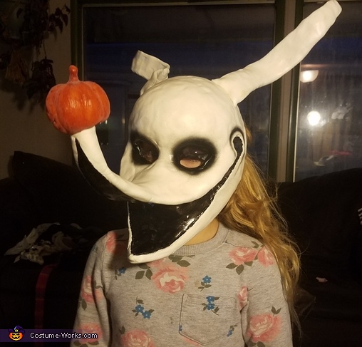 Zero Nightmare Before Christmas Homemade Costume