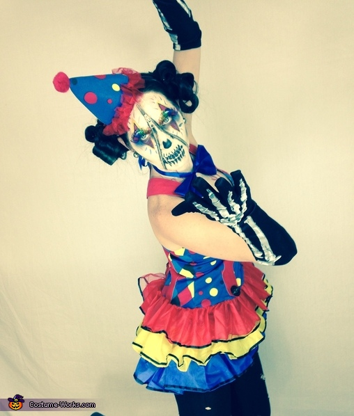 Zipper Clown Homemade Costume
