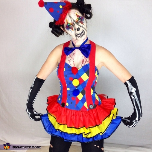 Zipper Clown Costume