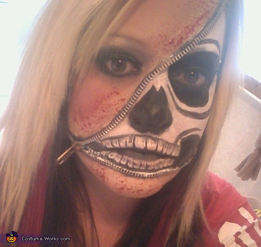 Zipper face, Zipper Face Costume