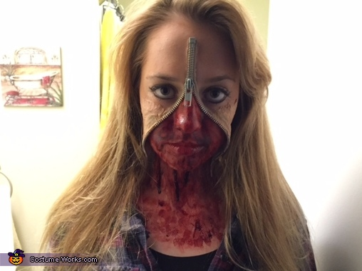 Zipper Head Costume