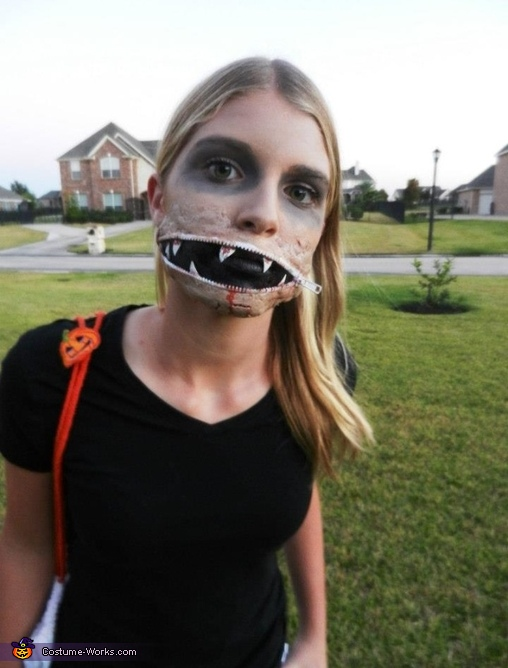 Zipper Mouth Costume
