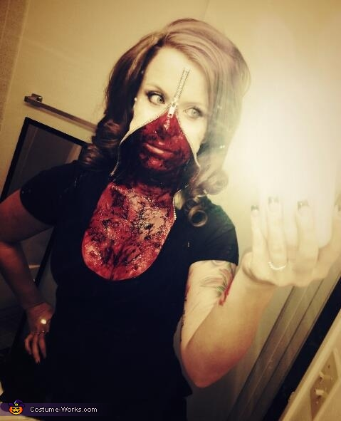 Zipperface Costume
