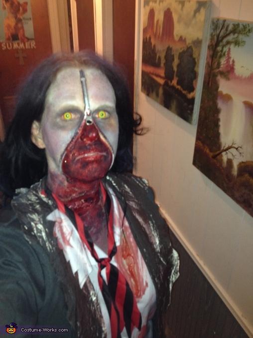 Me, Zipperface School Girl Costume
