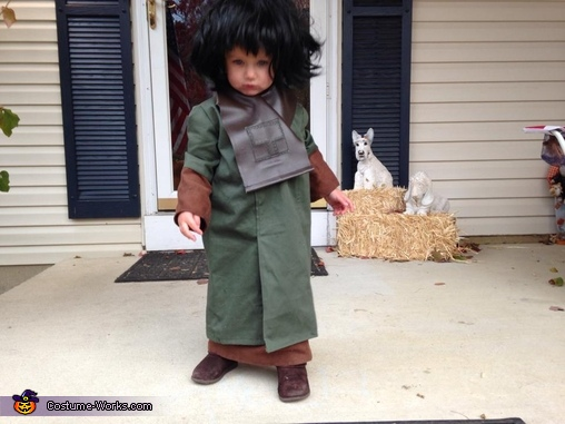 Amelia as serious Zira, Zira from Planet of the Apes Costume