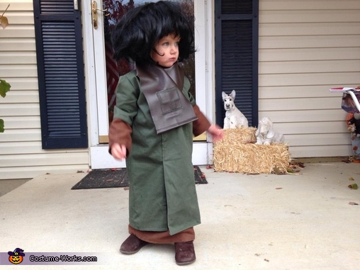 Amelia as contemplative Zira, Zira from Planet of the Apes Costume