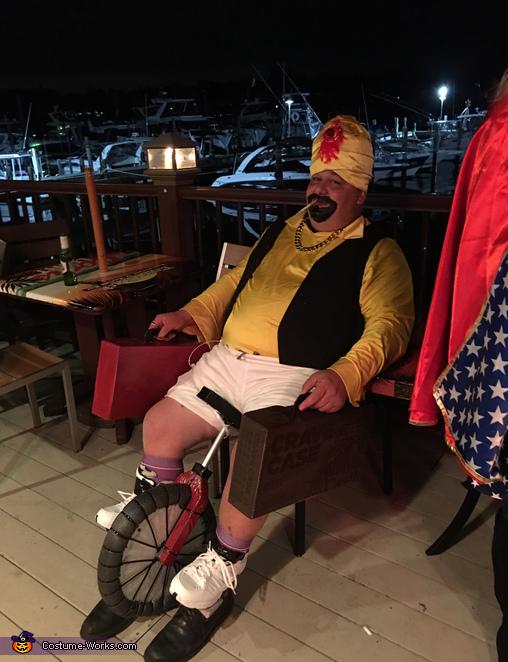 Zoltar Homemade Costume