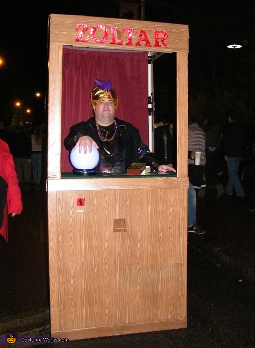 Zoltar Diy Halloween Costume