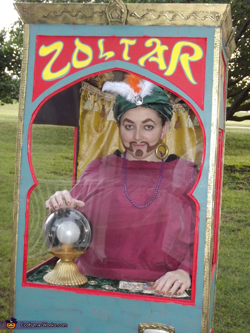 Zoltar Fortune Telling Machine Homemade Costume
