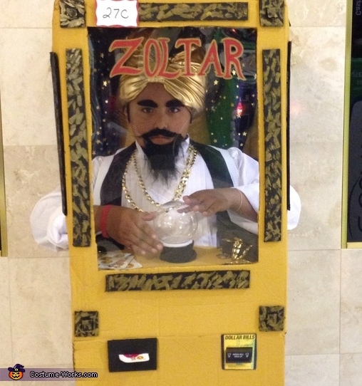 Zoltar the Fortune Teller Costume