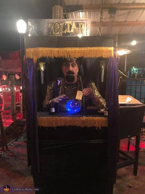 Zoltar the Fortune Teller Costume