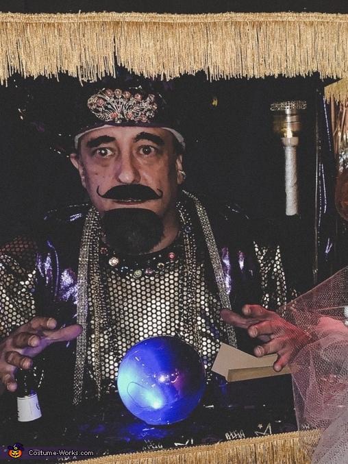 Zoltar Face, Zoltar the Fortune Teller Costume