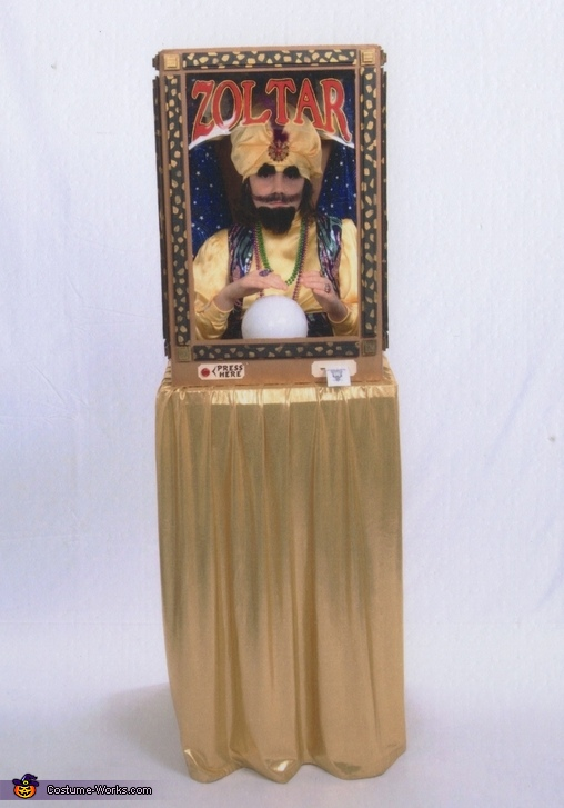 Zoltar, the Fortune Telling Machine Costume