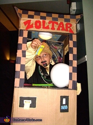 Zoltar in his Fortune Telling Machine Costume