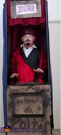 Zoltar machine, Fortune Teller Zoltar Costume