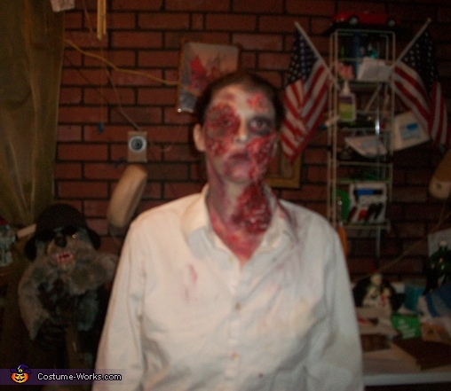 Homemade Zombie Adult Costume