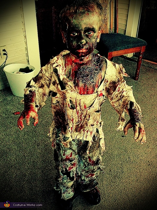edited version , Zombie Boy Costume