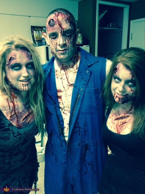 Zombie Group Costume