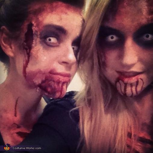 Zombie Group Costume