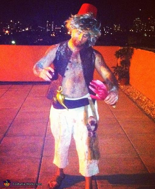 Zombie Aladdin Costume