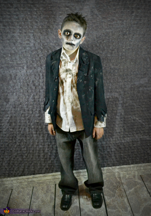 Mr. Creeper Zombie, Zombie Apocalypse Family Costume