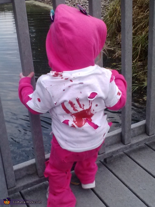 She was attacked , Zombie Baby Costume