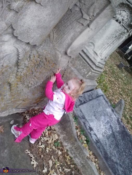 cemetery, Zombie Baby Costume