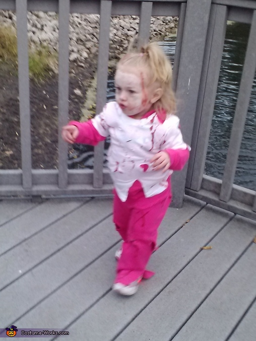 im going to get you, Zombie Baby Costume