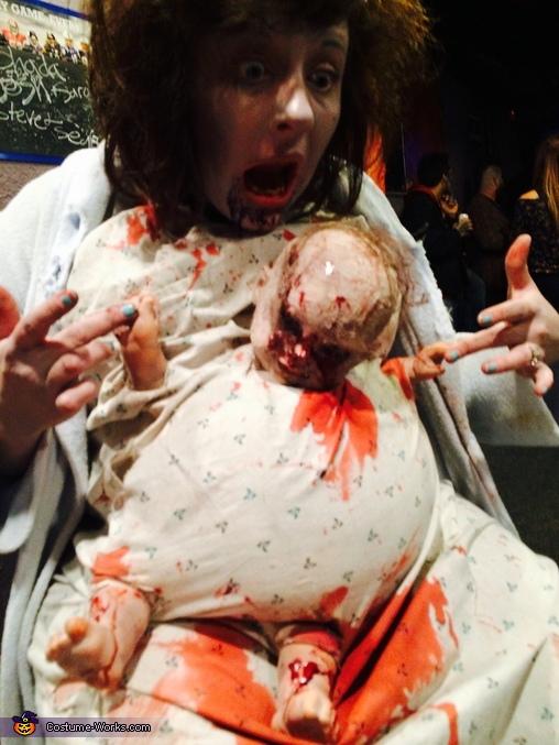 Zombie Baby Pregnant Women's Costume