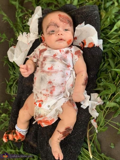 Zombie Baby Homemade Costume