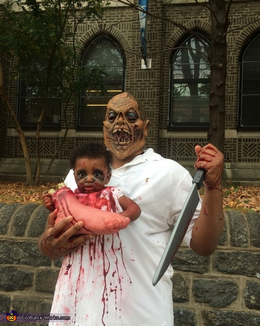sc 1 st  Costume Works & Zombie Baby and Monster Dad Costume