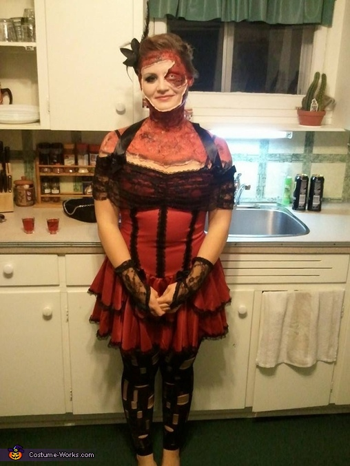 Zombie Bar Maid Costume