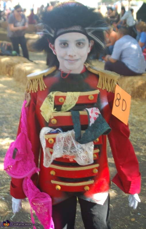 Zombie Bellhop Homemade Costume