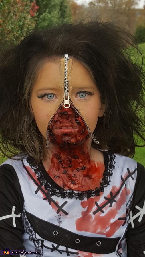 Zombie Blood Bride Costume