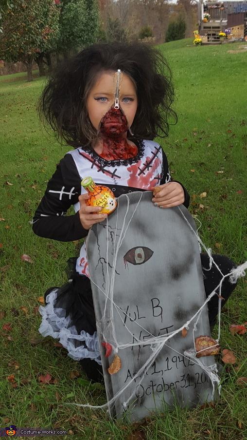 Zombie Blood Bride Homemade Costume
