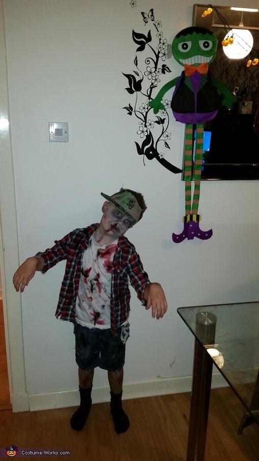 Zombie Boy Homemade Costume