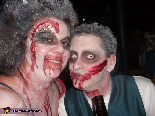 futer bro in law and i, Zombie Bridal Party Costume