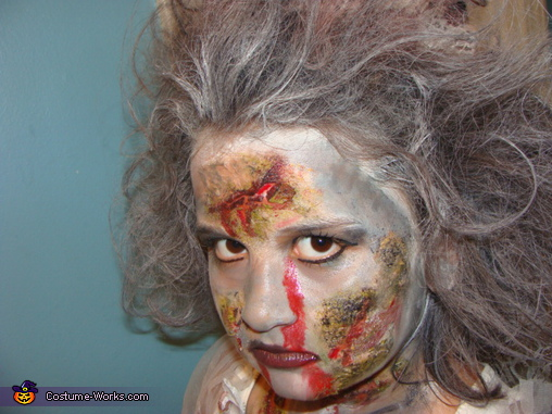 Zombie Bride - Homemade costumes for girls