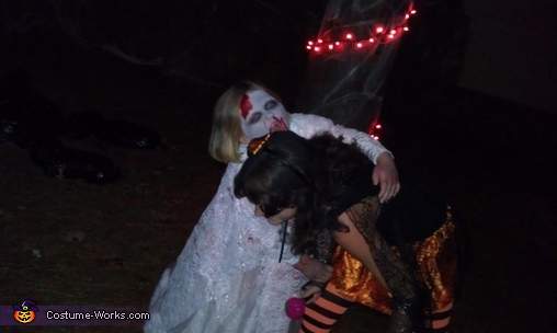 Zombie bride wants to turn her sister into a zombie!, Zombie Bride Costume