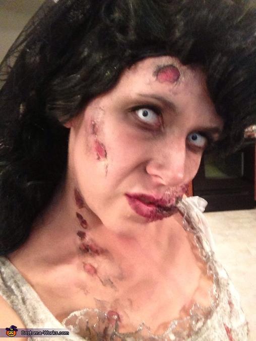 DIY Zombie Bride Costume