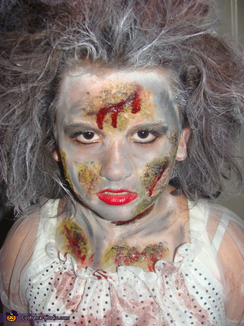 Pretty scary!, Zombie Bride Costume