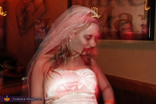 Zombie Bride and Groom Costume - Homemade costumes for couples