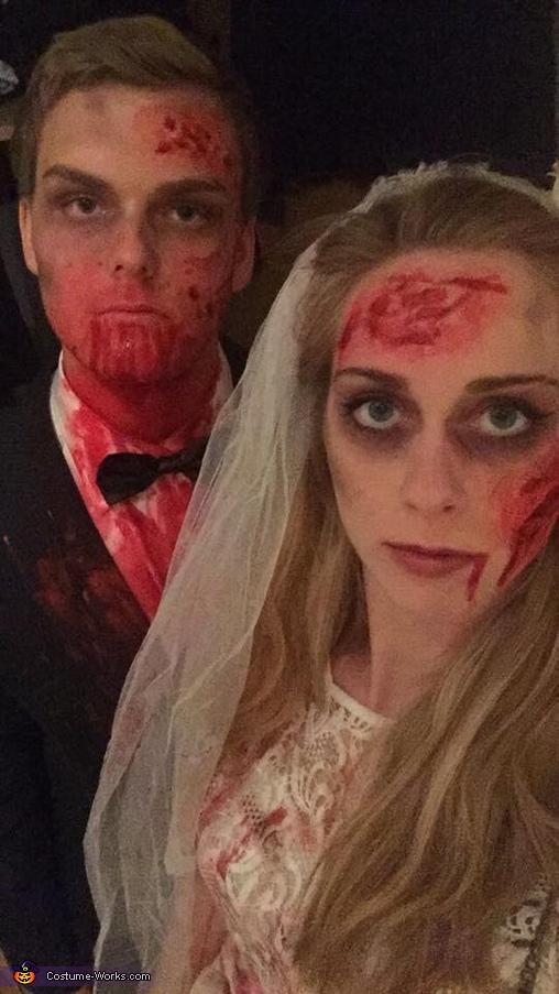 Zombie Bride and Groom Costume DIY