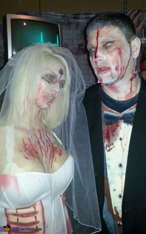 Zombie Bride & Groom Costume