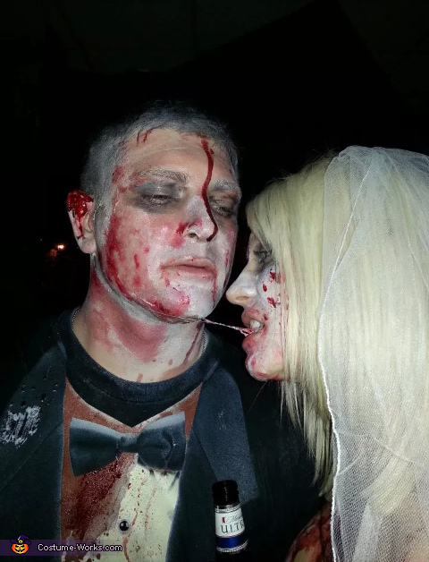 Yum, Zombie Bride & Groom Costume