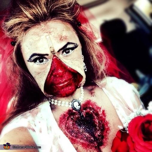 Zombie Bride, Zombie Bride & Groom Costume