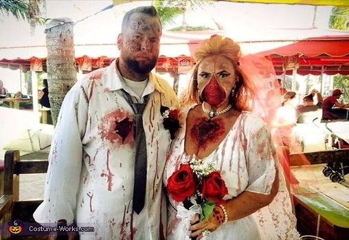 Zombie Bride & Groom, Zombie Bride & Groom Costume