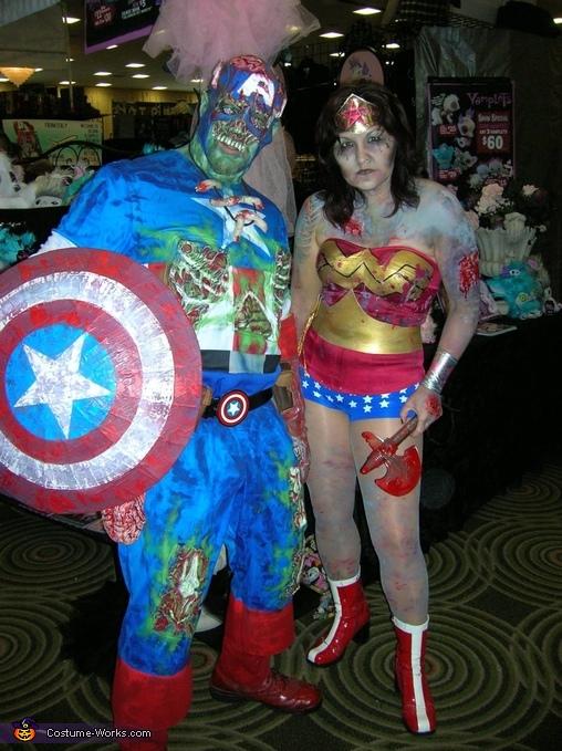 Zombie Captain America , Zombie Captain America Costume